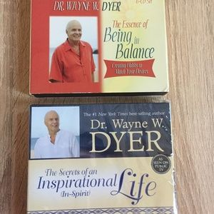 Inspirational Life Being Balance WAYNE DYER CD Lot